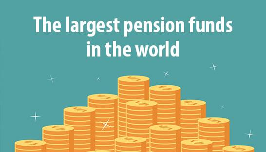 The largest superannuation | pension funds in the world