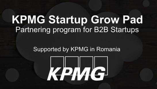 KPMG eyes tech startups in Romania with accelerator contest