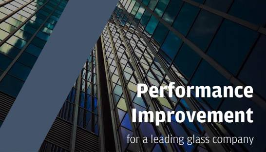 Avalon helps glass company with performance improvement
