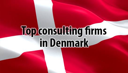 The top 25 management consulting firms in Denmark