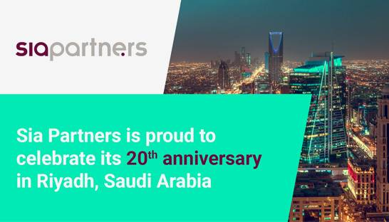 Sia Partners marks 20 years in business with event in Riyadh