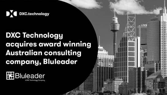 DXC beefs up Australian footprint with Bluleader acquisition