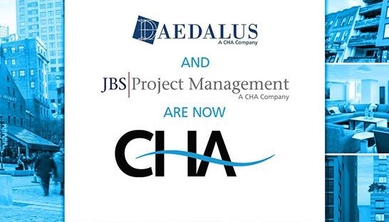 CHA fully integrates Daedalus Projects and JBS Project Management