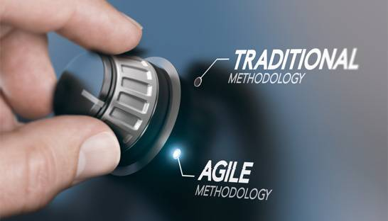 Being agile takes a lot more than just technology