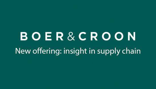 Boer & Croon offering bolsters insight in supply chain operations
