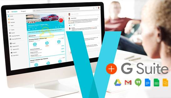 Google-based PSA solution VOGSY expands task management