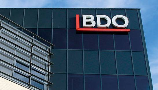 BDO nearly doubles revenue in decade and outpaces main rivals