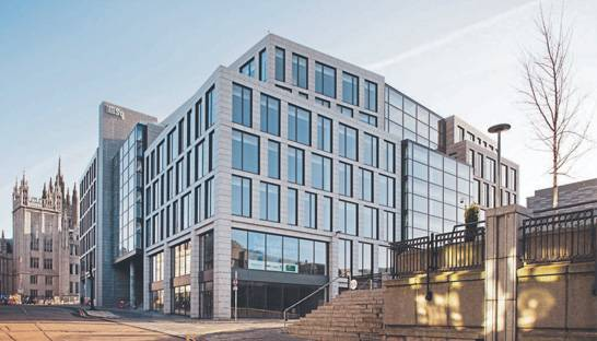 KPMG Aberdeen moves offices to Marischal Square