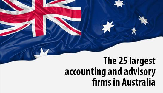 The 25 largest accounting and advisory firms in Australia