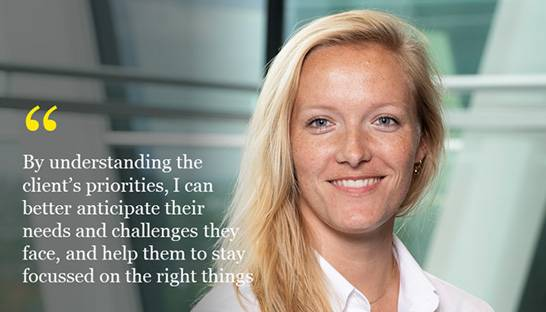 Laura Nauta on life in EY's supply chain consulting practice