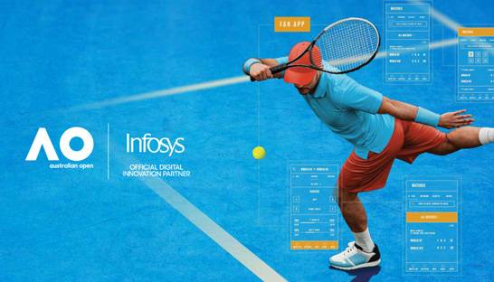 Infosys providing Australian Open fans with data-driven insights