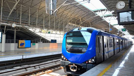 Three engineering consultancies selected for Chennai Metro Rail