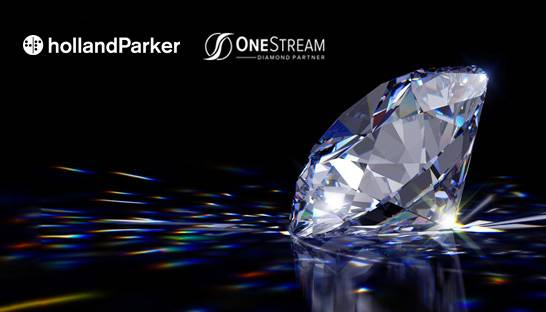 OneStream elevates HollandParker to Software Diamond Partner