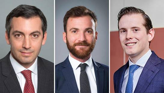 Accuracy promotes three partners in Paris and Amsterdam