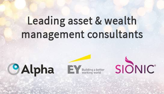 Alpha FMC, EY and Sionic lauded for wealth management services