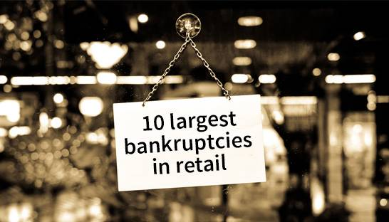 The 10 largest UK retail bankruptcies of the 2010s