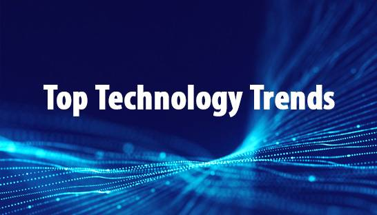The top technology trends for 2020 and 2021