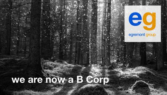 Consulting firm Egremont becomes certified B Corp
