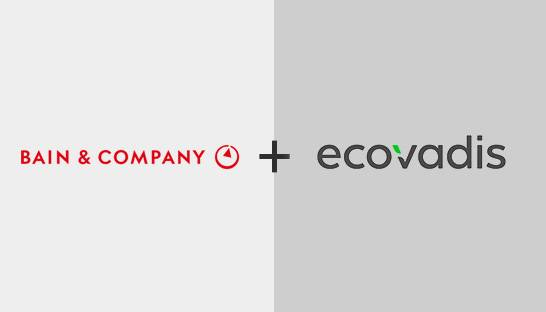 Bain integrates ESG and purpose in services with EcoVadis deal