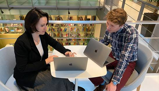 Two hires on their start at Dutch consultancy ACE Company