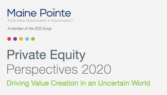 Maine Pointe: Private equity should look at supply chain optimization