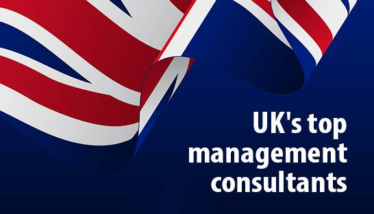 The UK's top management consultants for 2020