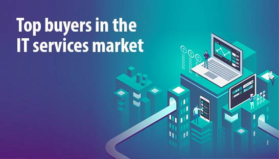 Accenture, Dentsu and Deloitte top buyers in IT services market