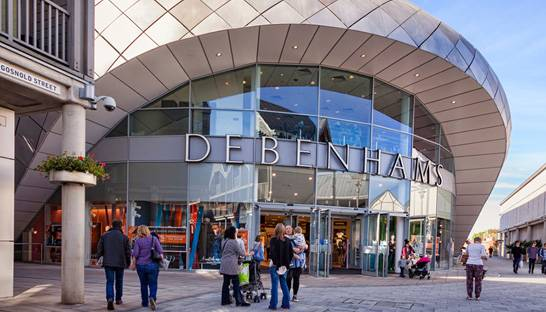 Debenhams appoints administrators for second time in a year