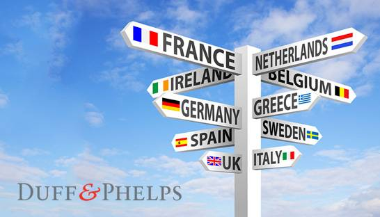 Duff & Phelps appoints ten managing directors in Europe