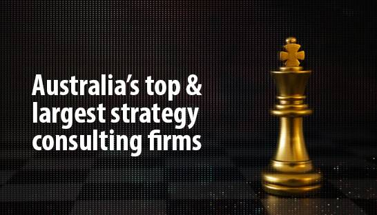 Australia's top and largest strategy consulting firms