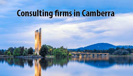 List of consulting firms in Canberra, Australia