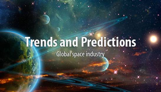 Trends and predictions for the global space industry