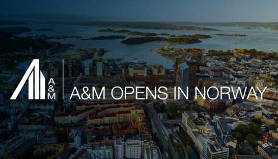 Alvarez & Marsal expands in Nordics with Oslo office