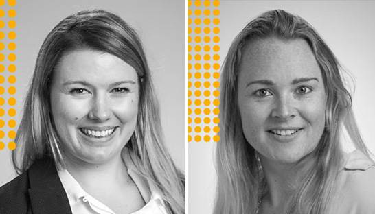 Jenny Gallagher and Nina Kenyon on working at DMW Group