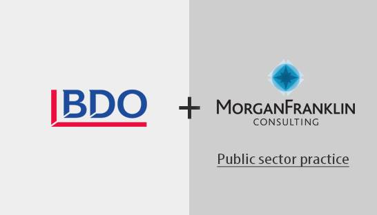 BDO USA acquires MorganFranklin Consulting's public sector practice