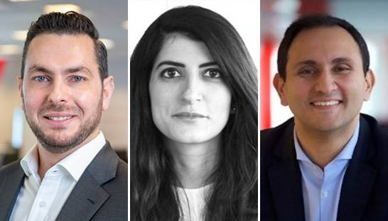 Bain & Company adds three partners in the Middle East