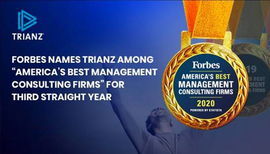 Forbes names Trianz one of America's best management consulting firms