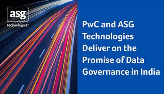 PwC and ASG Technologies to deliver data governance solutions