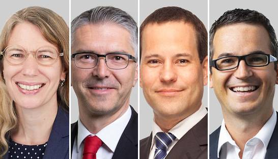 BearingPoint welcomes four partners in Austria and Switzerland