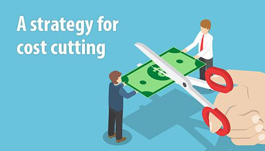 A best practice strategy and approach for cutting costs