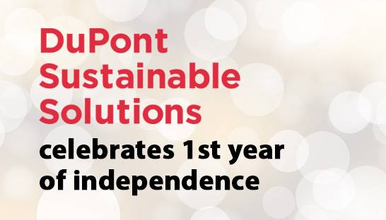 DuPont Sustainable Solutions celebrates first year of independence