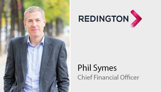 Phil Symes named Chief Financial Officer of Redington
