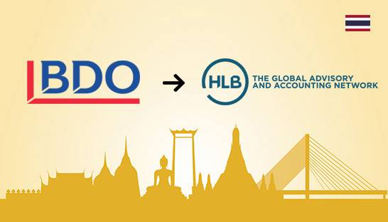 BDO's 40-strong Thailand team switches to rival network HLB