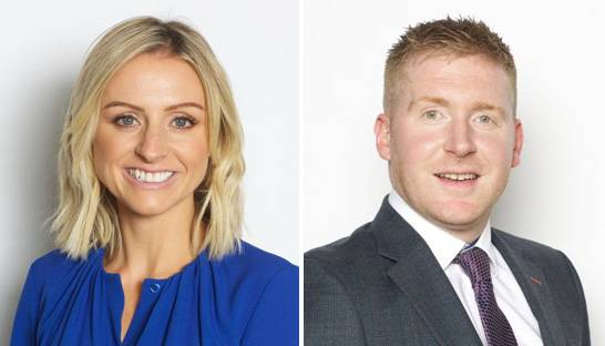 Amanda Ward and Brian O'Sullivan partner at Grant Thornton