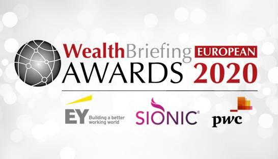 Sionic, PwC and EY named Europe's top wealth management advisors