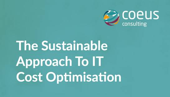 An approach for realising cost savings in the IT department