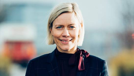 Mai-Britt Poulsen leads BCG's offices in UK and the Benelux