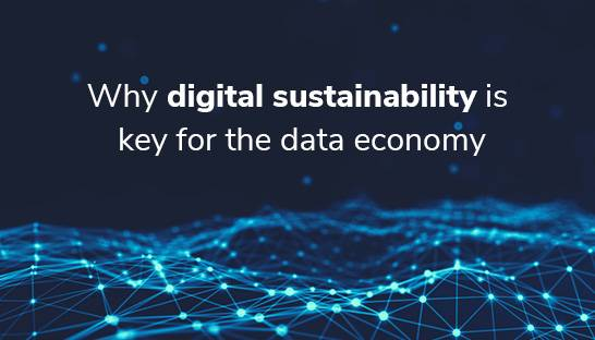 Why digital sustainability is key to combat growing data pollution