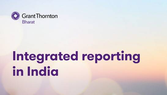 Integrated Reporting a building block for more transparency