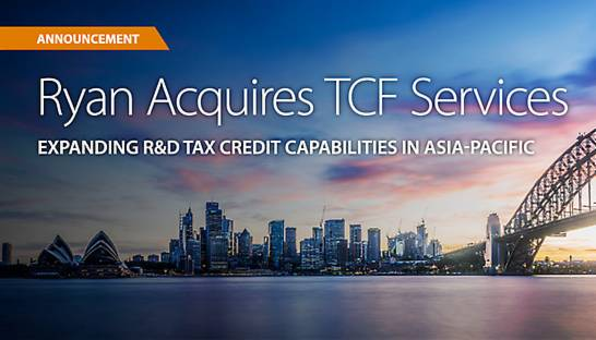 Grants consultancy TCF Services joins global player Ryan